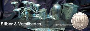 Ankauf von Tafelsilber und Versilbertem / Hotelsilber bei Goldankauf-Rosenheim.de