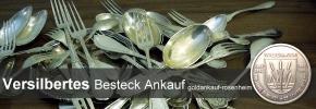 Ankauf von versilbertem Besteck - versilbertes Besteck verkaufen bei Goldankauf-Rosenheim.de
