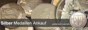 Silber Medaillen Ankauf -  Medaillen aus Silber verkaufen © goldankauf-rosenheim.de