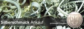 Silber Schmuck Ankauf - Silberschmuck verkaufen © goldankauf-rosenheim.de