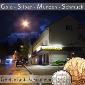 Rosenheim: Goldankauf, Silberankauf, Schmuckankauf & Münzankauf - Bar. diskret & fair!